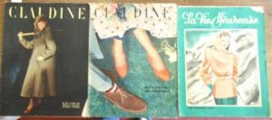 Claudine - Lazurick, Claude (Red.) / La Vie Heureuse. - Claudine - Hebdomadaire Feminin / La Vie Heureuse.