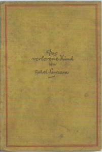 Sanzara, Rahel: Der verlorene Kind. Roman.
