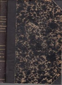 Hildebrand, Bruno (Gründer) / J. Conrad (Hrsg.) / Loening, Dr. Edg. / Lexis, W. / Waentig, H. (Mitarb.). - Jahrbücher für Nationalökonomie und Statistik. Generalregister zur III. Folge: Band 21 - 40, 1901 - 1910 (= Band 76 - 95 der Gesamtfolge).