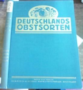 Müller, Johs. / Otto Bißmann (Bissmann) - Begründer // Walther Poenicke / Herm. Rosenthal / Otto Schindler und andere: Deutschlands Obstsorten. Band VI. Sonstiges Steinobst. Pflaumen, Zwetschen, Aprikosen, Pfirsiche.