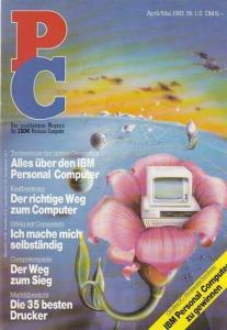 Bader, Gerhard (Red.) PC - das unabhängige Magazin für IBM Personal Computer. Heft 1/2 April/Mai 1983.