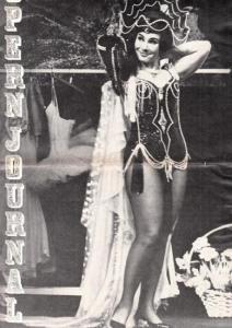 Opern Journal.- Deutsche Oper Berlin. Sellner, Gustav Rudolf (Hrsg.) - Thomas-M. Langner (Textred.) / Wilhelm Reinking (Bildred.): Opernjournal / Das Opern Journal - Spielzeit 1967/68 Nr. 7 März - Informationen-Bilder-Essays. Lulu