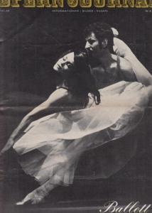 Opern Journal.- Deutsche Oper Berlin. Sellner, Gustav Rudolf (Hrsg.) - Thomas-M. Langner (Textred.) / Wilhelm Reinking (Bildred.): Opernjournal / Das Opern Journal - Spielzeit 1967/68 Nr. 8 April - Informationen-Bilder-Essays. Ballett