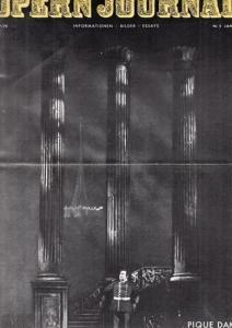 Opern Journal.- Deutsche Oper Berlin. Sellner, Gustav Rudolf (Hrsg.) - Thomas-M. Langner (Textred.) / Wilhelm Reinking (Bildred.): Opernjournal / Das Opern Journal - Spielzeit 1969/70 Nr. 5 Januar Informationen-Bilder-Essays.