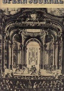 Opern Journal.- Deutsche Oper Berlin. Sellner, Gustav Rudolf (Hrsg.) - Claus H. Henneberg (Textred.) / Wilhelm Reinking (Bildred.): Opernjournal / Das Opern Journal - Spielzeit 1969/70 Nr. 7 Mai Informationen-Bilder-Essays.