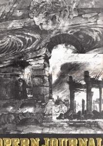 Opern Journal.- Deutsche Oper Berlin. Sellner, Gustav Rudolf (Hrsg.) - Thomas-M. Langner (Textred.) / Wilhelm Reinking (Bildred.): Opernjournal / Das Opern Journal - Spielzeit 1970/71 Nr. 9 Juni/Juli Informationen-Bilder-Essays.