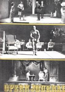 Opern Journal.- Deutsche Oper Berlin. Sellner, Gustav Rudolf (Hrsg.) - Claus H. Henneberg (Textred.) / Werner Schwenke (Bildred.): Opernjournal / Das Opern Journal - Spielzeit 1971/72 Nr. 3 November Informationen-Bilder-Essays.