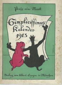 Simplicissimus Kalender. - Simplicissimus Kalender für 1913.