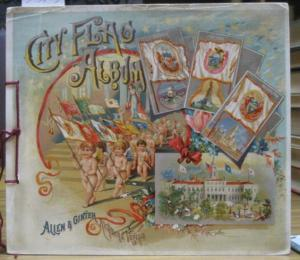 Allen & Ginter Tobacco. - City Flag Album - Allen & Ginter Tobacco. Souvenir Album