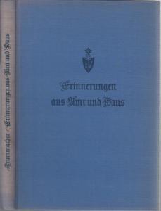 Krummacher, Theodor: Erinnerungen aus Amt und Haus. Von Pfarrer Theodor Krummacher.