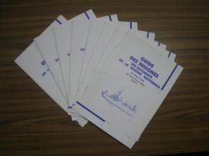 Stella, Jean-Pierre: Guide des Insignes des Batiments de la Marine Nationale de 1936 á 1970. Fascicule 1 - 8 / Hefte 1 - 8 / Booklet 1 - 8.