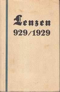 Lenzen. - Willy Hoppe: Lenzen. Aus tausend Jahren einer märkischen Stadt 929 - 1929.
