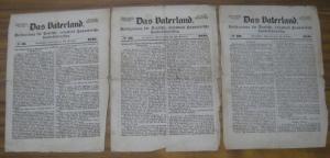Vaterland, Das. - Das Vaterland. No. 58, 59 und 60 von 1848 - 22., 26. und 29. Oktober. Volkszeitung für Deutsche, besonders Hannoversche Landesinteressen.