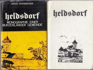 Heldsdorf ( Halchiu ). - Burzenland ( rumänisch Tara Barsei ). - Ernst Rothbächer: Heldsdorf. Monographie einer Burzenländer Gemeinde.