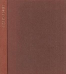 Kronhausen, Eberhard und Phyllis : Erotische Exlibris.