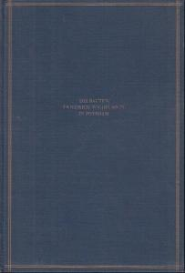 Potsdam. - Friedrich Wilhelm IV. - Poensgen, Georg : Die Bauten Friedrich Wilhelms IV. in Potsdam.