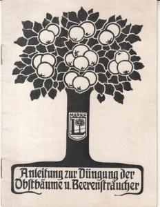 Lierke, E: Anleitung zur Düngung der Obstbäume und Beerensträucher.