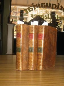 Katharina II. - Castéra, J(ean Henri): Histoire de Catherine II, Impératrice de Russie. Komplett in 3 Bänden. Tome premier, second e troizieme.
