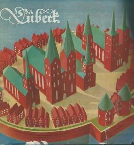 Lübeck. - Herausgegeben vom Lübecker Verkehrsverein e.V. - Fotos: Wilh. Castelli jun. - Lübeck. Mit dem ' Seedienst Ostpreußen ' über Lübeck - Travemünde.