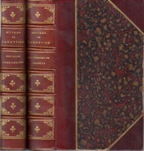 Lamartine, A. de : Oeuvres de A. de Lamartine. 2 vols. Les confidences. Graziella / Nouvelles confidences.