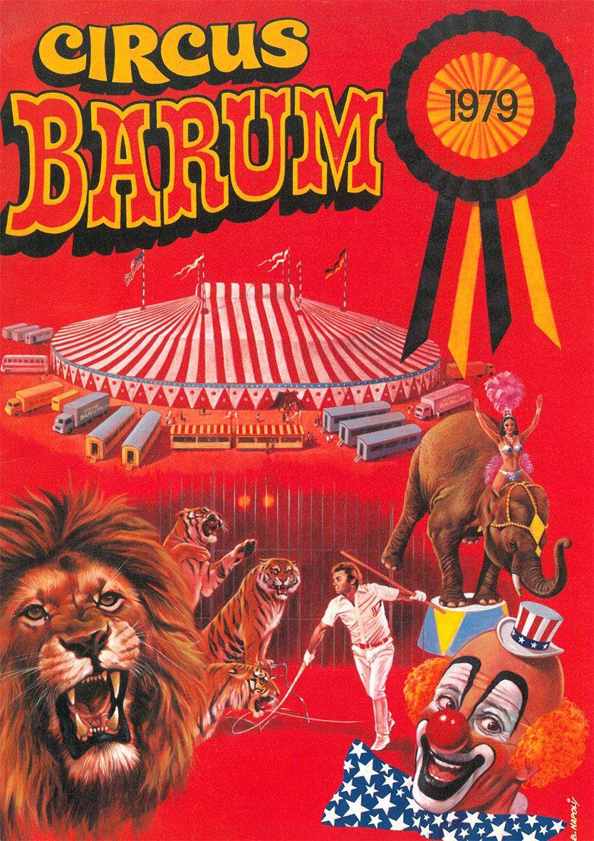 Circus Barum Circus Barum - Programmheft 1979