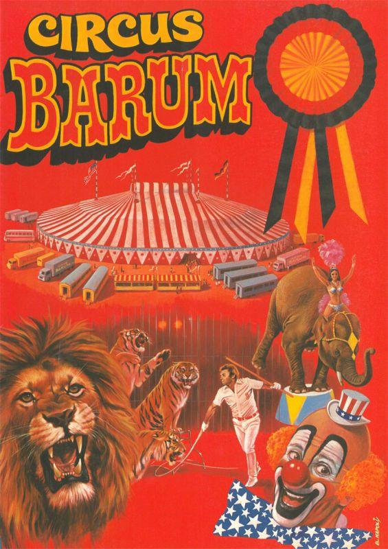 Circus Barum Circus Barum - Programmheft ca. 1988