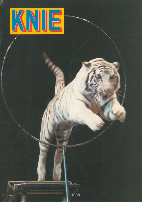 Circus Knie Zirkus Knie - Programmheft 1988