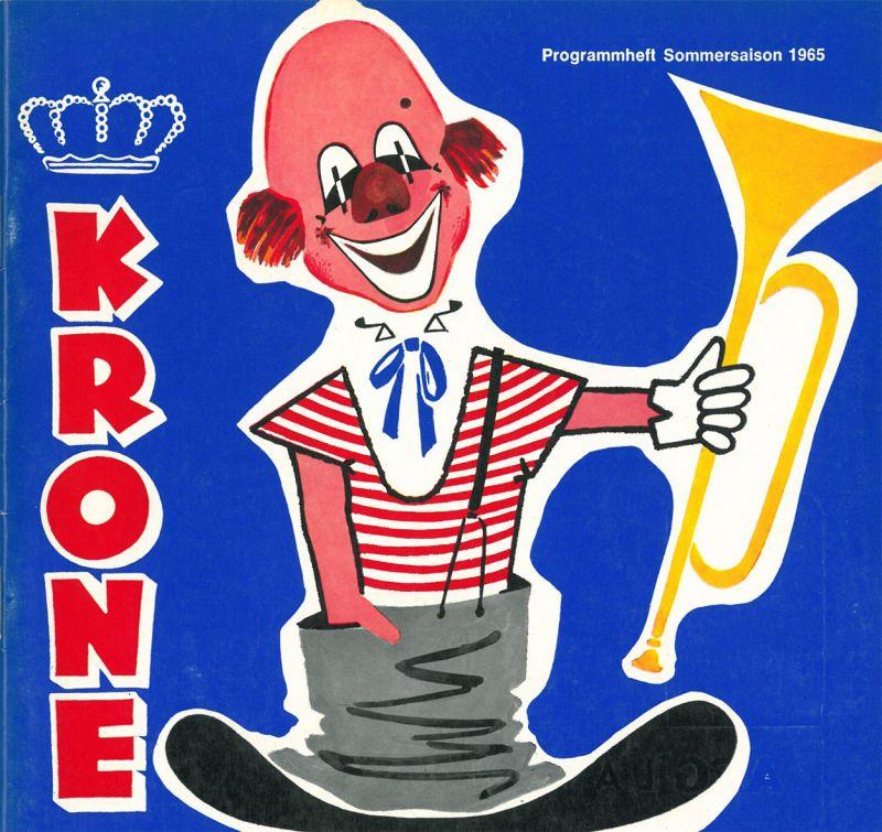Circus Krone Circus Krone - Programmheft 1965