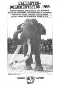 EEG European Elephant Group Elefanten-Dokumentation 1999