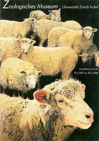 Zoologisches Museum der Universität Zürich Ausstellung Schafe. 19.05.1987 bis 28.02.19988