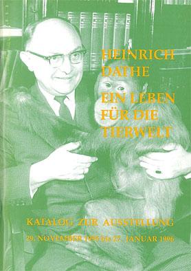 Heinrich Dathe - Ein Leben für die Tierwelt