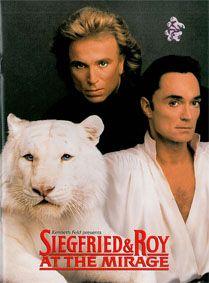 Feld, Kenneth Kenneth Feld presents: Siegfried & Roy at the Mirage. Souvenier Program Book.