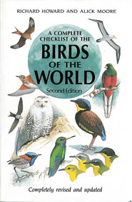 Howard, Richard; Moore, Alick A Complete Checklist of the Birds of the World, Second Edition