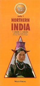 India 1, Northern India. Landkarte 1:650.000 / 1:1.500.000. Special Maps: Ladakh/Zanskar. City Maps: Delhi/Agra/Srinagar