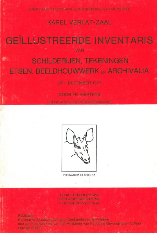 Van Loock-Vervreckmoes, Hilda und Frans Mertens Geillustreerde Inventaris van Schilderijen, Tekeningen, Etsen, Beeldhouwwerk en Archivalia