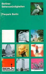 Tierpark Berlin Berliner Sehenswürdigkeiten - Berlin-Information mit Plan (mehrere Fotos, oben rechts Schuhschnabel)