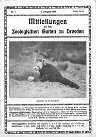 Zoo Dresden Mitteilungen aus dem Zool. Garten zu Dresden, 4. Jahrgang, Nr. 6
