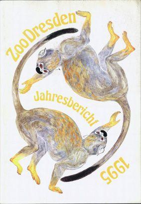 Zoo Dresden Jahresbericht 1995