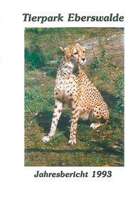 Tierpark Eberswalde Jahresbericht 1993
