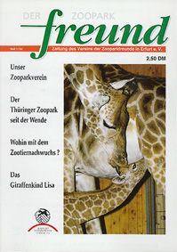 Zoopark Erfurt Der Zooparkfreund 1. Jahrgang / Ausgabe 1/1994