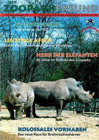 Zoopark Erfurt Der Zooparkfreund 4. Jahrgang / Ausgabe 1/1997