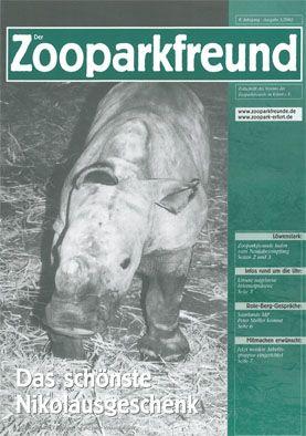 Zoopark Erfurt Der Zooparkfreund 8. Jahrgang / Ausgabe 1/2002
