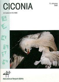 Tierpark Görlitz Jahresbericht Ciconia Jahrgang 12