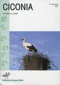 Tierpark Görlitz Jahresbericht Ciconia Jahrgang 14