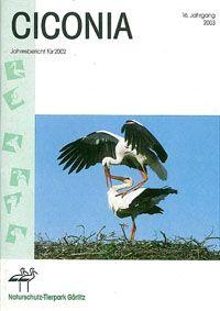 Tierpark Görlitz Jahresbericht Ciconia Jahrgang 16