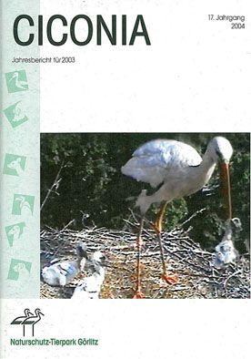 Tierpark Görlitz Jahresbericht Ciconia Jahrgang 17