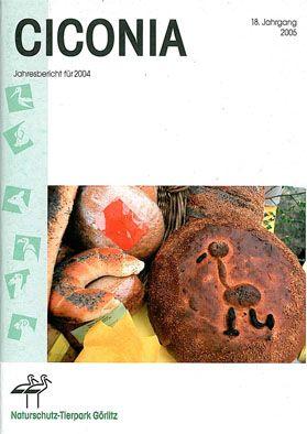 Tierpark Görlitz Jahresbericht Ciconia Jahrgang 18