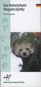 Tierpark Görlitz Orientierungsplan (Kleiner Panda)
