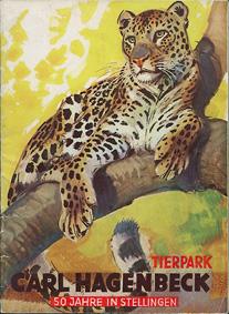 Tierpark Hagenbeck Hamburg Parkführer 50 Jahre in Stellingen (Leopard) (2049708 - 2169708)