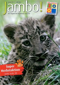 Zoo Hannover Jambo!, das Magazin des Erlebnis-Zoo Hannover, Herbst 2012